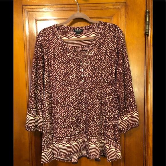 Lucky Brand Dresses & Skirts - Lucky Brand Shirt 3XL